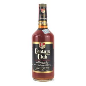 Century Club 4 Year Old Bourbon 1 Quart 1970s