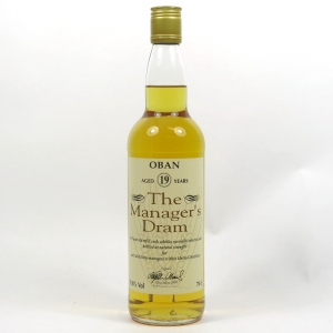 Oban 19 Year Old Managers Dram 1995