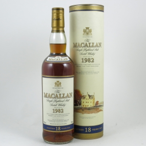 Macallan 1982 18 Year Old front