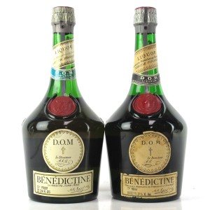Benedictine Liqueur 1970s / 2 Bottles