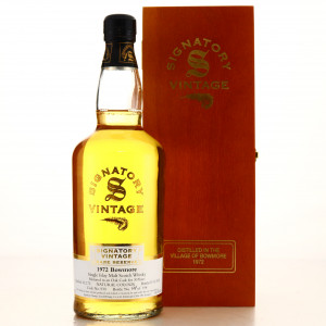 Bowmore 1972 Signatory Vintage 32 Year Old Rare Reserve