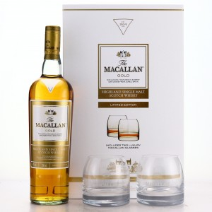 Macallan Gold Limited Edition Gift Pack