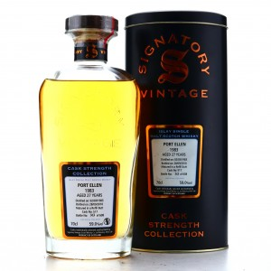 Port Ellen 1983 Signatory Vintage 27 Year Old Cask Strength