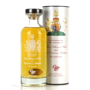 English Whisky Co Royal Marriage 2011 Decanter