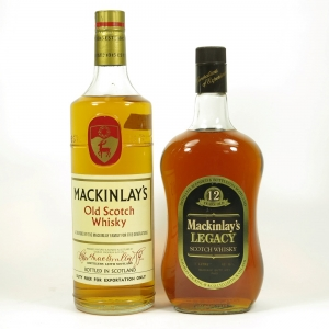 Mackinlay's Legacy 12 Year and Mackinlay's 2 x 1 Litre