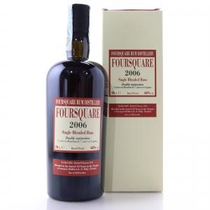 Foursquare 2006 Barrel Proof Rum / Bourbon and Cognac Matured
