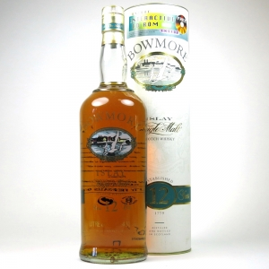 Bowmore 12 Year Old Screen Print 1990s 1 Litre
