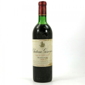 Chateau Giscours Margaux 1969