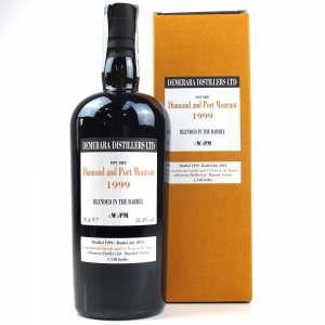 Diamond Distillery and Port Mourant 1999 Blended in the Barrel Rum