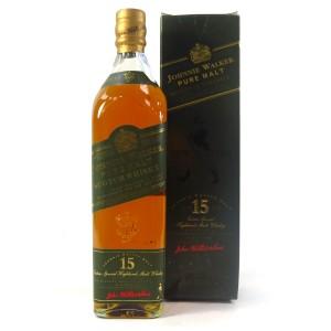 Johnnie Walker Pure Malt 15 Year Old / Green Label