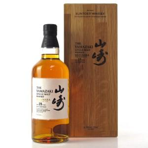 Yamazaki 18 Year Old Mizunara Oak 2017 Edition
