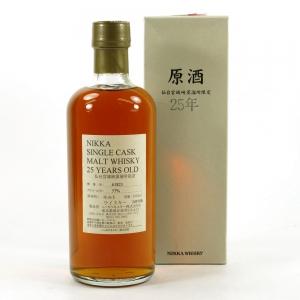 Miyagikyo Nikka 25 Year Old Single Cask #61823