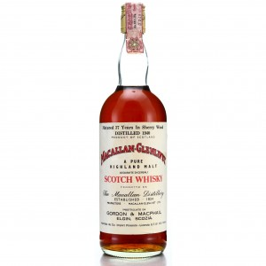 Macallan 1940 Gordon and MacPhail 37 Year Old / Co. Pinerolo Import