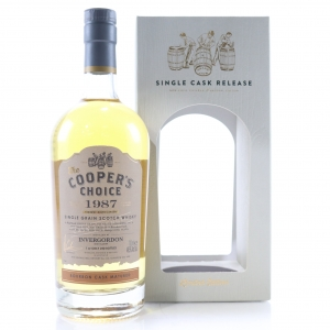 Invergordon 1987 Cooper's Choice 30 Year Old