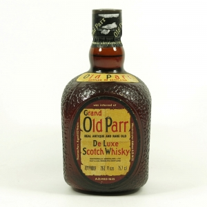 Old Parr Deluxe 12 Year Old 1970's Front