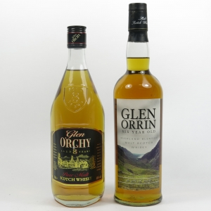 Glen Orrin 6 Year Old and Glen Orchy 8 Year Old