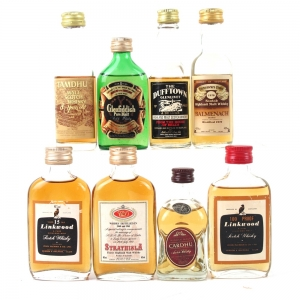Miscellaneous Speyside Miniature Selection 8 x 5cl
