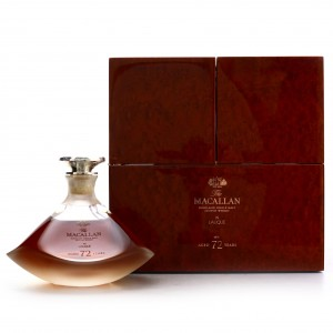Macallan 72 Year Old Lalique Genesis Decanter