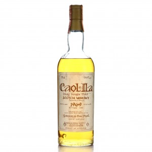 Caol Ila 1969 Gordon and MacPhail Cask Strength Celtic Label / Meregalli Import