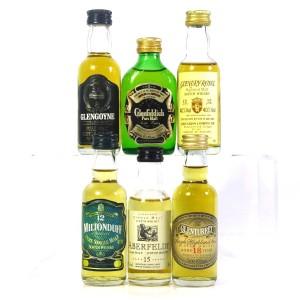 Highland & Speyside Miniatures x 6