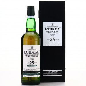 Laphroaig 25 Year Old Cask Strength 2009 Edition