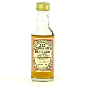 Glenlivet 1940 Gordon and MacPhail 50 Year Old 5cl