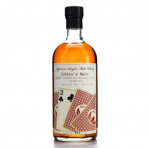 Hanyu 2000 Ichiro's Malt 'Card' #9500 / Two of Clubs