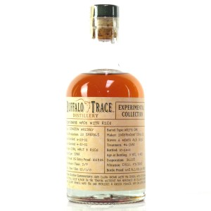 Buffalo Trace 2002 Experimental Collection 9 Year Old 37.5cl / Made with Rice