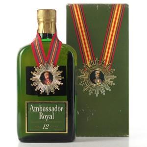 Ambassador Royal 12 Year Old 1960s / US Import