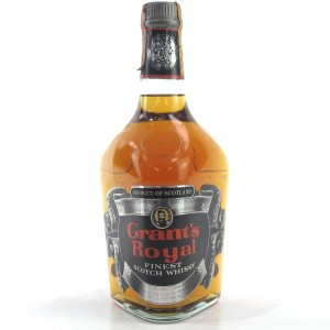 Grant's Royal Finest Scotch 1970s