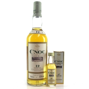 An Cnoc 12 Year Old 1990s / Including Matching Miniature
