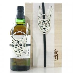 Hakushu 25 Year Old Limited Edition