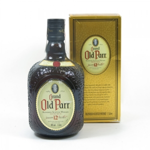 Grand Old Parr 12 Year Old 1 Litre Front
