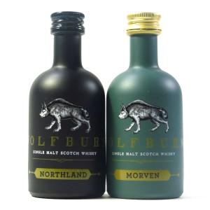 Wolfburn Morven & Northland Miniatures 2 x 5cl