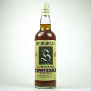 Springbank 12 Year Old Green Thistle