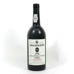 Warre's 1982 Late Bottled Vintage Port / Bottled in 1986 Front