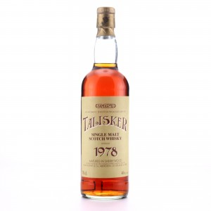 Talisker 1978 Samaroli Sherry Wood / Curved Distillery Label