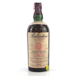 Ballantine's Liqueur Scotch 1950s / US Import