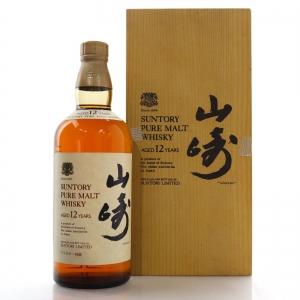 Yamazaki Suntory Pure Malt 12 Year Old 1980s / Wooden Box
