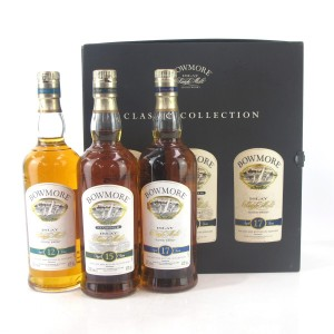 Bowmore Classic Collection 3 x 20cl / 12, 15 & 17 Year Old