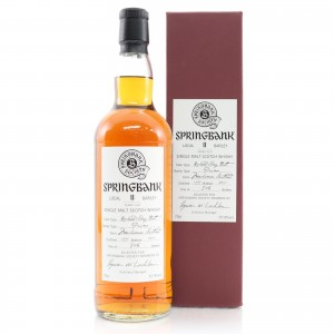 Springbank 1999 Springbank Society 11 Year Old / Local Barley Single Cask