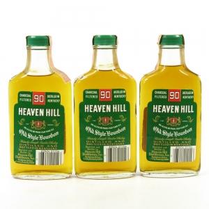 Heaven Hill 90 Proof 3 x 20cl