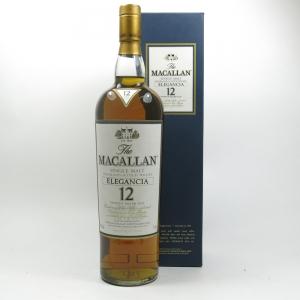 Macallan Elegancia 12 Year Old 1 Litre