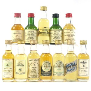 Single Malt Miniature Selection 12 x 5cl