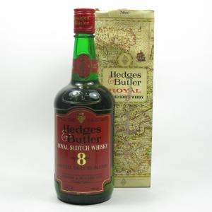 Hedges & Butler Royal 8 Year Old 1980s