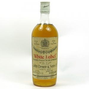 Dewars White Label 1960s