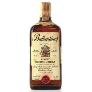 Ballantine's Finest Scotch Whisky 1960s