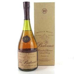 Balvenie 10 Year Old Founder's Cognac Bottle