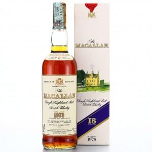 Macallan 1978 18 Year Old / Giovinetti Import