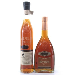 Miscellaneous 6 Year Old Brandy Selection 2 x 50cl